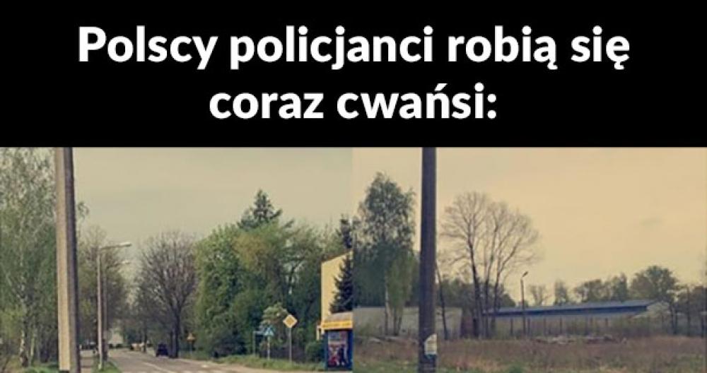 Cwany policjant