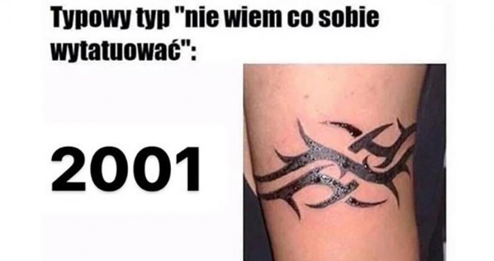 Moda na tatuaż